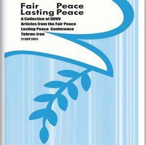 ��������-����-����������������-���������� - صلح عادلانه صلح، صلح پایدار