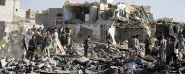 حداقل 22766 حمله هوایی از سوی نیروهای ائتلاف به رهبری عربستان سعودی به یمن