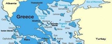 کرکس ها بر بام یونان