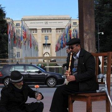برپایی چادر فرهنگی،هنری سمن های ایرانی در ژنو، به همت سازمان دفاع از قربانیان خشونت