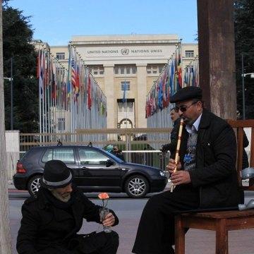 برپایی چادر فرهنگی،هنری سمن های ایرانی در ژنو به همت سازمان دفاع از قربانیان خشونت