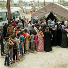 10 میلیون نفر در عراق و سوریه آواره شدهاند