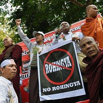 محاصره روهینگیایی های میانمار توسط بودایی های افراطی