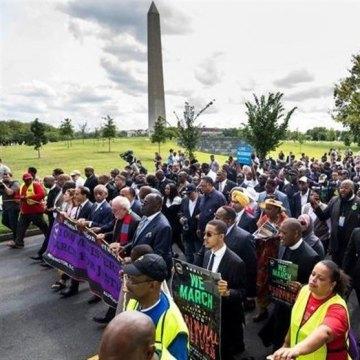 آغاز راهپیمایی ضدنژادپرستی ۱۰ روزه آمریکاییها به مقصد واشنگتن