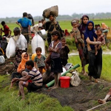 درخواست کمک سازمان ملل و رسیدن تعداد آوارگان میانماری به ۳۰۰ هزار تن