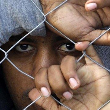 اوضاع فاجعه بار و غیر انسانی پناهندگان در یونان