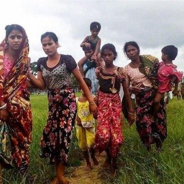 وضعیت تلخ آوارگان مسلمان روهینگیایی در مرز میانمار و بنگلادش