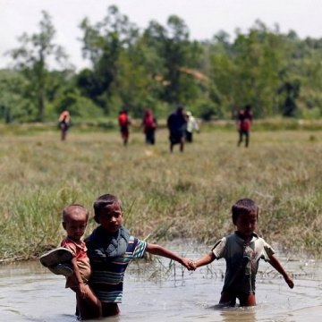 فراخوان یونیسف برای جمعآوری کمک ۷۶.۱ میلیون دلاری برای کودکان روهینجا