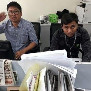 دادستان میانمار به دنبال طرح اتهام علیه خبرنگاران بازداشتی رویترز