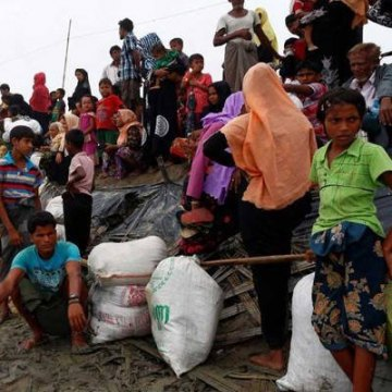 ۲۰۰ هزار پناهجوی روهینگیا در انتظار پناهگاهی امن هستند
