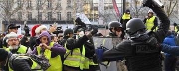 آماری از نتایج استفاده پلیس فرانسه از روشهای خشونتآمیز در مقابله با جلیقهزردها