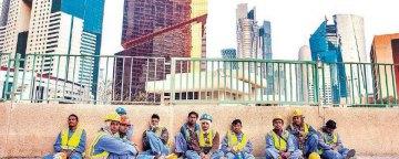 وضعیت نامناسب کارگران مهاجر در امارات در میانه شیوع بیماری همهگیر کووید ۱۹