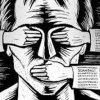 گزارش-سازمان-دفاع-از-قربانیان-خشونت-از-نمایشگاه-نقاشی-های-سورئال-خواهران-افغانستانی - انتقاد از کاهش آزادی مطبوعات در آمریکا