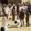 نمایش-رنج-کودکان-بیمار-ایرانی-در-سازمان-ملل-متحد - هشدار سازمان ملل درباره اعدام کودکان در عربستان