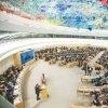 ������������-����������-���������������-������������-����-������������-����������������-������������-����-��������-����������-����������-����-����������-������������ - قرائت بیانیه سازمان تحت آیتم 3 با موضوع تحریم و نقض حق تحصیل و حق توسعه