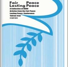 صلح عادلانه صلح، صلح پایدار - Fair peace lasting peace