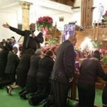 اعتراض به خشونت پلیس در کلیساهای سیاهان سراسر آمریکا - news