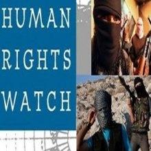 بین-المللی - دیدهبان حقوق بشر مخالفان سوریه را به ارتکاب فاجعۀ انسانی محکوم کرد