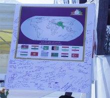 برگزاری نمایشگاه صلح دوستی ایرانیان توسط سمن های ایرانی دارای مقام مشورتی - exhibition geneva 8