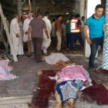 حمله انتحاری به مسجد امام علی(ع) در قطیف عربستان - داعش-قطیف