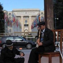 نمایشگاه - برپایی چادر فرهنگی،هنری سمن های ایرانی در ژنو، به همت سازمان دفاع از قربانیان خشونت