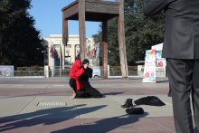 برپایی چادر فرهنگی،هنری سمن های ایرانی در ژنو به همت سازمان دفاع از قربانیان خشونت - 1-17