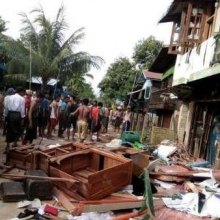 میانمار - بودائیان تندرو یک مسجد مسلمانان روهینگیا را تخریب کردند