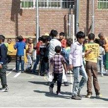 گزارشی از حال و هوای مهر در مدرسه کودکان کار
