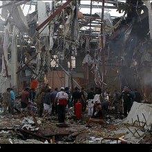 صنعا - خشم جهانی از جنایت بزرگ عربستان در یمن