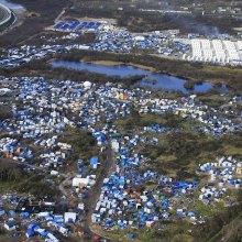 پناهجو - صدها نفر از پناهجویان به «اردوگاه های مخفی» در نزدیکی کاله فرانسه باز گشته اند