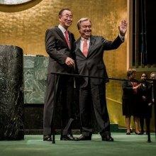 ��������-����-������������-������ - آغاز به کار دبیر کل جدید سازمان ملل در دوره ای پرچالش