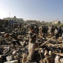 شهادت و زخمی شدن بیش از 11000 یمنی - یمن. Wall Street Journal