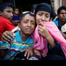 ����������-����������-�������������� - پاکسازی قومی صدها روهینگیایی توسط ارتش میانمار