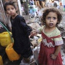 ������ - آکسفام: کمبود آب جان ۱۵ میلیون یمنی را تهدید میکند
