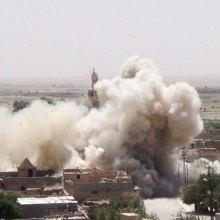 عراق - حمله اخیر جنگندههای آمریکا به مسجد موصل عمدی بود