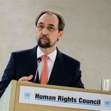 فشار آمریکا برای قرارنگرفتن نام شرکت های اسراییلی در لیست سیاه حقوق بشری - زید رعد الحسین. پرس تی وی