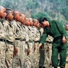 ������������������������������������ - ارتش میانمار 67 کودک سرباز را مرخص کرد