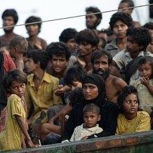 مسلمانان-میانمار - روستاییان روهینجایی از جنایات نیروهای میانماری در عملیات پاکسازی گفتند