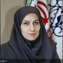 سمانه شاددل شهردار منطقه 2 زنجان