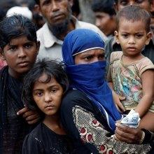 روهینگیا - رعد الحسین: پاکسازی قومی در میانمار به راه افتاده است
