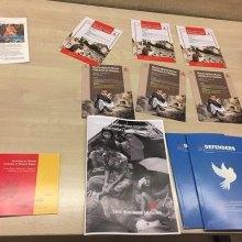 حضور سازمان دفاع از قربانیان خشونت در سی و ششمین اجلاس شورای حقوق بشر - نمایش محصولات