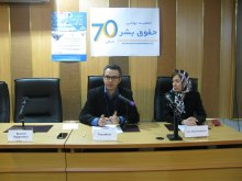 برگزاری دوره جامع آموزشی و شبیهسازی شورای حقوقبشر همزمان با روز جهانی حقوق بشر - خوشامدگویی مدیرعامل دکترگلشنپژوه (1)