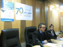 برگزاری دوره جامع آموزشی و شبیهسازی شورای حقوقبشر همزمان با روز جهانی حقوق بشر - خوشامدگویی مدیرعامل دکترگلشنپژوه (3)