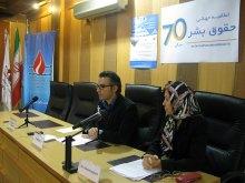 برگزاری دوره جامع آموزشی و شبیهسازی شورای حقوقبشر همزمان با روز جهانی حقوق بشر - خوشامدگویی مدیرعامل دکترگلشنپژوه (2)