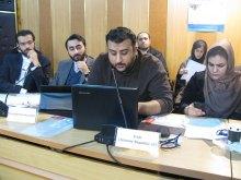 برگزاری دوره جامع آموزشی و شبیهسازی شورای حقوقبشر همزمان با روز جهانی حقوق بشر - قرایت بیانیه کشورها و سمنها (5)