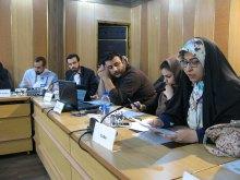 برگزاری دوره جامع آموزشی و شبیهسازی شورای حقوقبشر همزمان با روز جهانی حقوق بشر - قرایت بیانیه کشورها و سمنها (6)