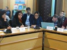 برگزاری دوره جامع آموزشی و شبیهسازی شورای حقوقبشر همزمان با روز جهانی حقوق بشر - قرایت بیانیه کشورها و سمنها (8)