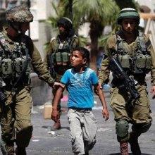 بازداشت - بعد از تصمیم ترامپ روند بازداشت کودکان فلسطینی بیشتر شده است