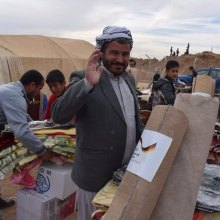 ������ - نیم میلیون عراقی آواره جنگ داعش به مناطق خود بازگشتند