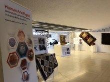 برپایی نمایشگاه هنرهای دستی اقلیتها و اقوام ایرانی در سازمان ملل متحد - Human Arts.Rights Exhibition (1)
